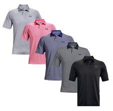 Under Armour Hombre UA Performance Stripe Polo Golf Camisa 1361823-nuevo 2021