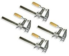 "Lot of 4: 36"" Inch BAR CLAMPS Heavy Duty Woodworking Wood Carpenter Tools"