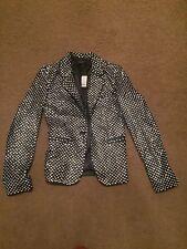 Joseph jazz Leather Diamond Jacket Size S Bnwt