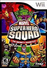 MARVEL SUPER HERO SQUAD INFINITY GAUNTLET Nintendo Wii Game