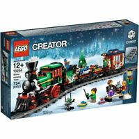 LEGO® CREATOR 10254 CHRISTMAS WINTER HOLIDAY TRAIN - FACTORY SEALED / NEW
