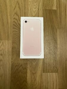 Apple iPhone 7 - 256GB -Unlocked SIM Free Smartphone Rose Gold Colour