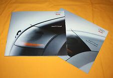 AUDI TT COUPE 1998 PROSPEKT BROCHURE DEPLIANT catalog prospetto broschyr FOLDER