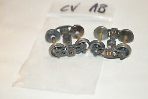 """HO scale PARTS freight car trucks sprung metal Central Valley Arch Bar w/ 33"""""""