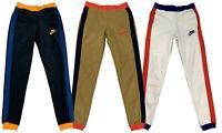 Nike Womens Sportswear Polar Fleece Pants Black/White/Brown CJ4934 New