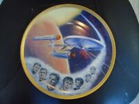 9 Star Trek Collectors Plates 1983 Hamilton Complete Collection