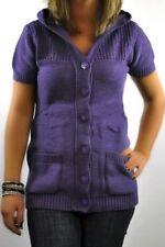 Kurzarm Damen-Pullover & -Strickware mit Knöpfen in Größe 38