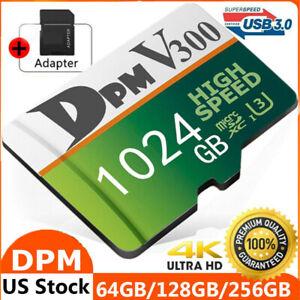 Micro Memory Card 128GB 256GB 512GB 1TB 275MB/S Class10 4K U3 Fast Flash TF Card