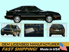 1987 GLHS Goes Like Hell Shelby Dodge Charger Decals Stripes Kit