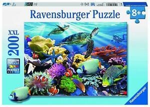 Ravensburger Jigsaw Puzzle 200pc XXL - Ocean Turtles - 12608-8 Authentic New