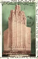 Vintage Postcard - Posted 1936 The Hotel Wellington  New York NY #3181