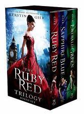 The Ruby Red Trilogy: The Ruby Red Trilogy Boxed Set by Kerstin Gier (2014,...
