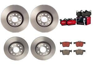Brembo Front 312mm Rear 272mm Rotors Ceramic Pads Brake Kit For Audi A3 e-tron Q