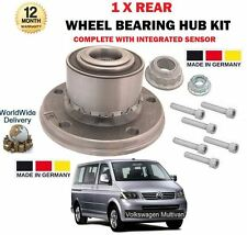 FOR VW VOLKSWAGEN MULTIVAN TDI V6 2003-> NEW 1 X REAR WHEEL BEARING + BOLTS