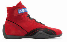SPARCO RACE PLUS FIA shoes Suede Red 47 31 cm CLEARANCE SALE