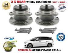 para CITROËN C4 Grand Picasso 2013- > NUEVO 2x cojinete de rueda trasera JUEGO +