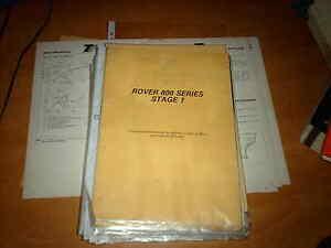Body Repair Manual Rover 800 series inc Fastback 1986  - Thatcham Mira Manual