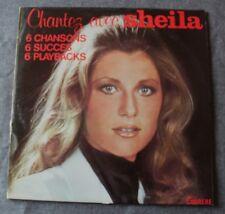 Sheila, chantez avec Sheila - 6 succés 6 playbacks, rare LP - 33 tours