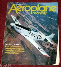 Aeroplane Monthly Magazine 1980 June DH84,Airspeed Oxford,F-100 Super Sabre,B17