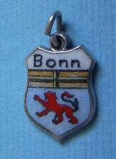 Vintage Bonn Germany shield silver charm