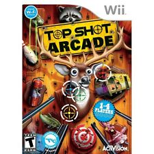 Top Shot Arcade Nintendo Wii NEW SEALED