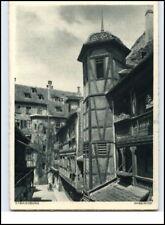 Strassburg Alsazia AK carte postale del 1940/45 Rabenhof cartolina