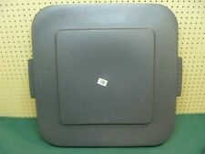 """Lot Of 4 Lids square brute 50gal. Container 25.5""""sq. - Must Sell! Send Any Offer"""