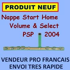 NAPPE FLEX BOUTONS START HOME SELECT VOLUME SONY PSP SLIM 2004 NEUF ENVOI 24H