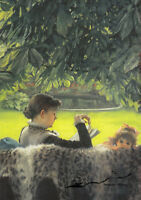 Stille Nacht Postkarte Viggo Johansen