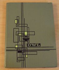 "RARE 1962 OWL FRESNO HIGH Yearbook~""TOM SEAVER"" MLB Hall of Fame/Cy Young Award"