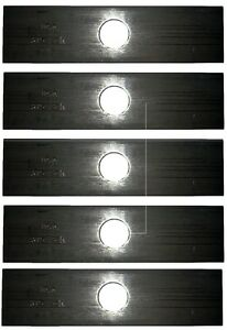 Stens Edger Blade 8 Inch X 2 Inch with 1 Inch Center Hole 375-301 Pack of 5