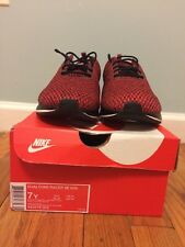 NEW NIKE DUALTONE RACER SE (GS) SZ 7Y WHITE/BLACK/RED WINE RUNNING 943575-002