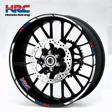 HRC Honda CBR1000RR cbr600rr motorcycle wheel decals stickers rim stripes 1000rr
