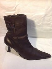 Florence+Fred Brown Ankle Leather Boots Size 5