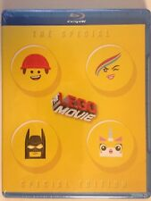 The Lego Movie Special Edition (Blu-ray/DVD, 3-Disc Set, 2014) NEW