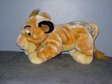 Peluche   Disney  SIMBA du Roi lion  ( long: 30  cm )