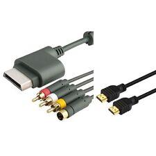 Cables y adaptadores con conexión Compuesto RCA para consolas de videojuegos