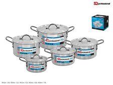 Sq Profesional 5 Piezas Aluminio Ollas de cocina, 18-26 cm de tamaño. buena Qualiy Pesado