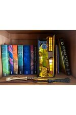 Book Nook Shelf Insert Magical Street Bookshelf Alley Diagon Diorama Bookends