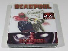 Deadpool Blu-ray Steelbook Manta Lab 1/4 Slip With Magnet Lenticular #064/500