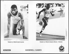 Goodwill Games Carl Lewis Original 1980s Photo Track and Field Bisco-Hooks