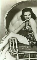 Gloria Jean Hollywood Sexy Actress Movie Star 1940s Real Photo Postcard