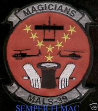 AUTHENTIC MALS-39 MAGICIANS US MARINES PATCH MCAS EL TORO MIRAMAR MAG-39 3D MAW