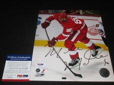 MIKE MODANO SIGNED 8X10 PHOTO PSA/DNA DETROIT RED WINGS 1