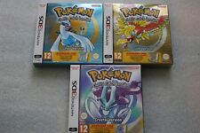 Pokemon Gold Edition + Silver Edition + Crystal Edition DCC - 3DS BOX - NEW !!