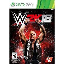 WWE 2K16 XBOX 360 Video Game Pro Wrestling Tournament '16 2016 wwf