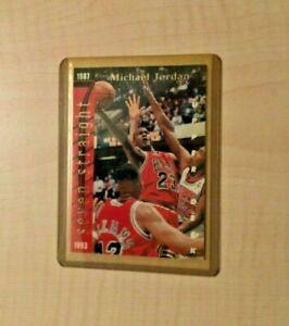 1993-94 NBA Upper Deck Basketball Michael Jordan & Wilt Chamberlain #SP3