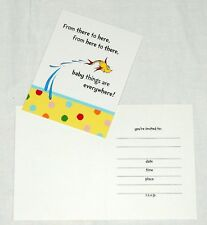 ~DR. SEUSS ~ BABY SEUSS 8- INVITATIONS W/ENVELOPES-   PARTY SUPPLIES