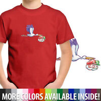 Toddler Kids Boy Girl Tee Youth T-Shirt Stork Baby Mario & Luigi Yoshis Island