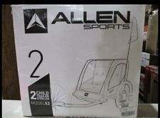 Allen Sports Deluxe Steel 2-Child Bicycle Trailer and Stroller, S2